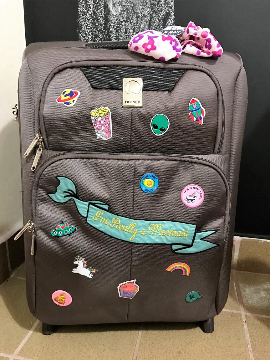 12.01.17 Dando um upgrade na minha mala demão