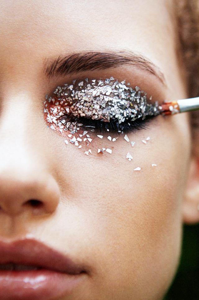 Makes cheias de Glitter | Carnaval |Beleza