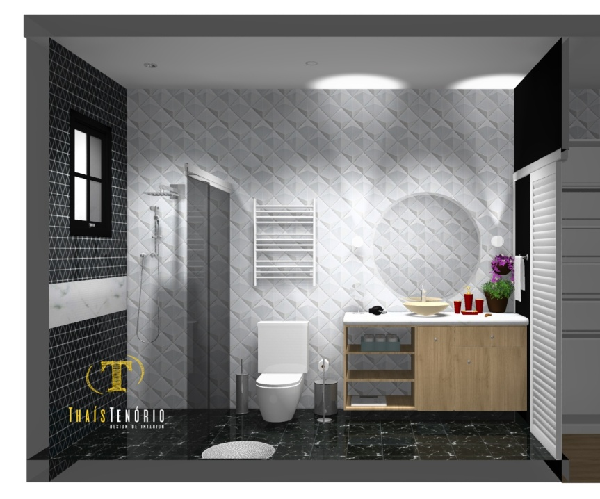 Banheiro Master | Thaís TenórioDesign